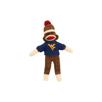 West Virginia Plush Sock Monkey