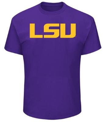 LSU Big & Tall Giant Logo T-Shirt