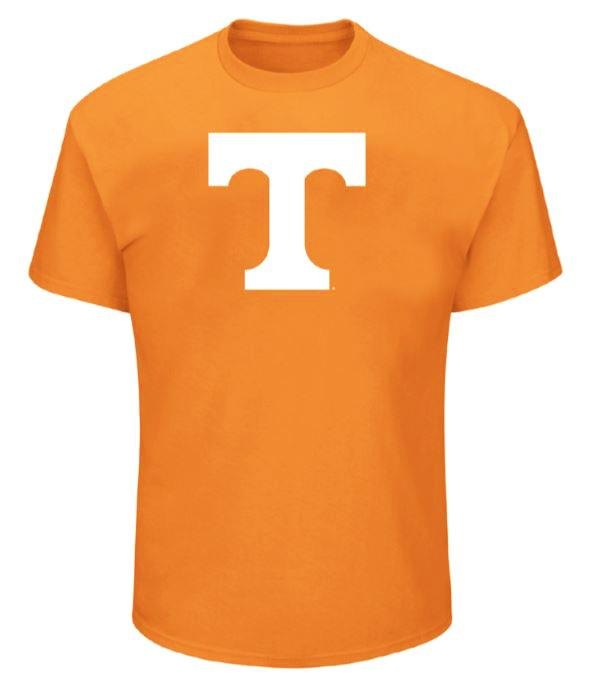 Tennessee Big & Tall Giant Logo T- Shirt