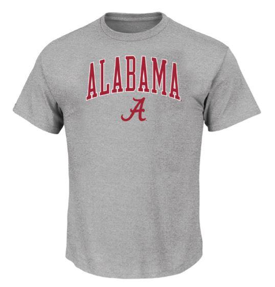 Alabama Big & Tall Arch Logo T- Shirt