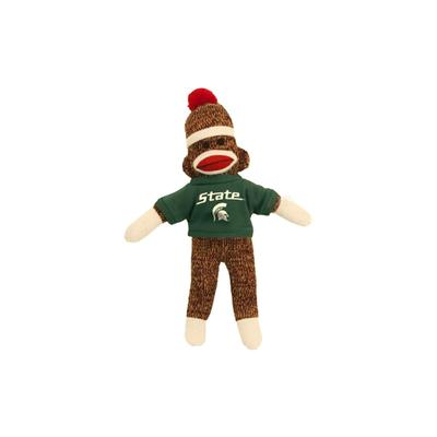 Michigan State Plush Sock Monkey