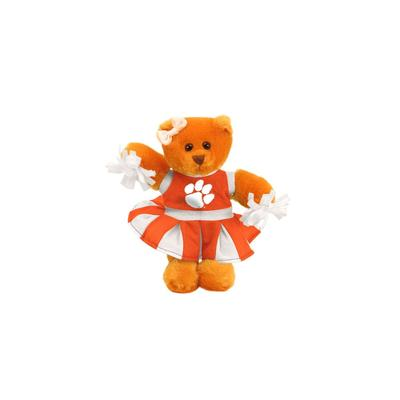 Clemson Plush Cheer Bear