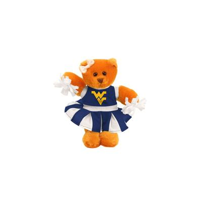 West Virginia Plush Cheer Bear