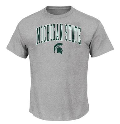 Michigan State Big & Tall Arch Logo T-Shirt