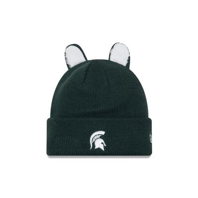 Michigan State New Era Ears Knit Cap