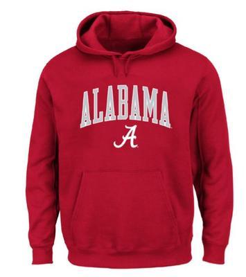 Alabama Big & Tall Arch Logo Hoodie