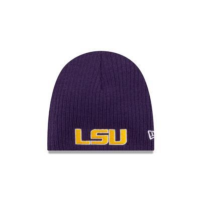 LSU New Era Mini Knit Cap
