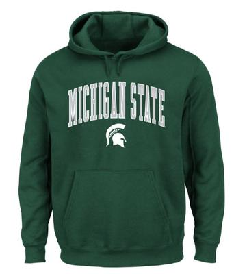 Michigan State Big & Tall Arch Logo Hoodie