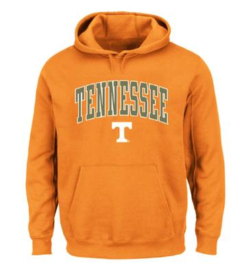 Tennessee Big & Tall Arch Logo Hoodie