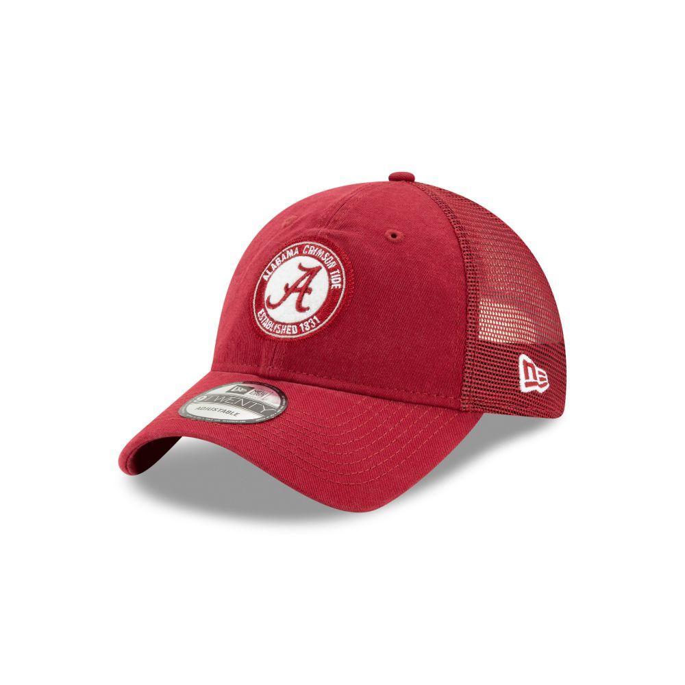 Alabama Circle Patch Trucker Hat