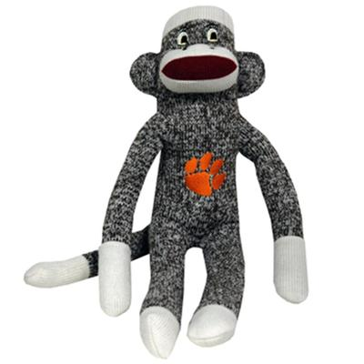 Clemson Jenkins Sock Monkey Plush