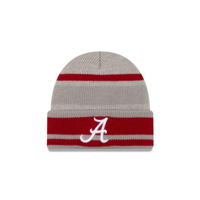 Alabama New Era Fleece Cuff Knit Hat