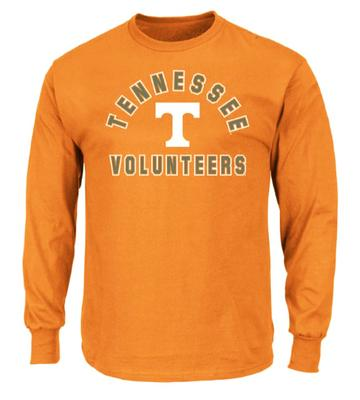 Tennessee Big & Tall Arch Logo Long Sleeve Tee