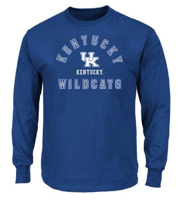 Kentucky Big & Tall Arch Logo Long Sleeve Tee