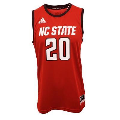 NC State Adidas Swingman NCAA Basketball Jersey