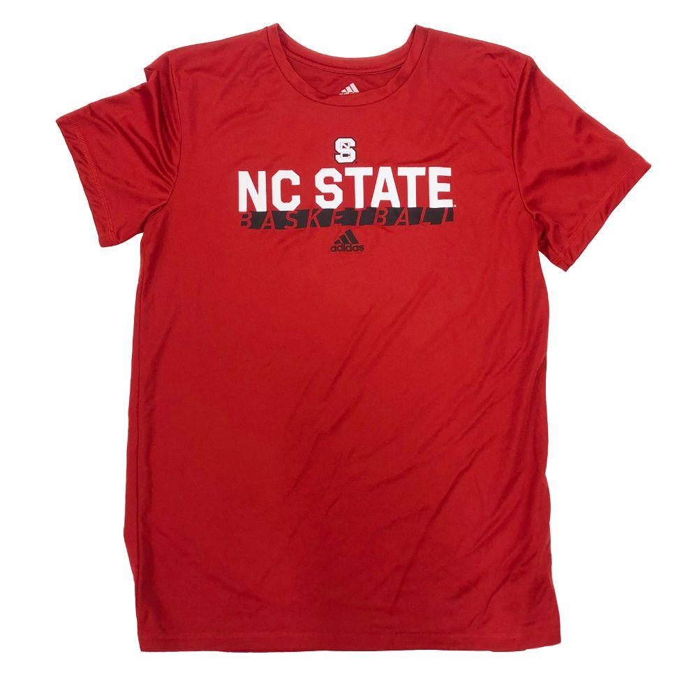 Nc State Adidas On Court Graphic Tee