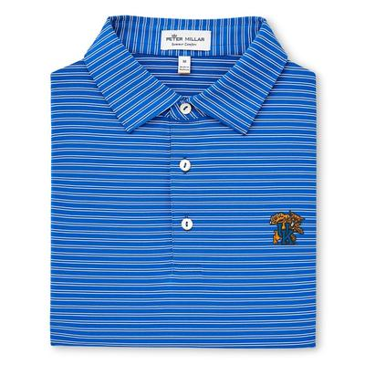 Kentucky Peter Millar Mascot Stripe Jersey Polo