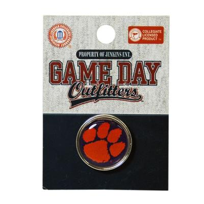 Clemson Jenkins Circle Lapel Pin