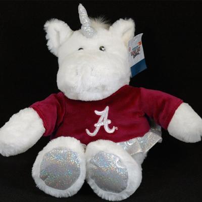 Alabama Jenkins Pudgy Unicorn Plush