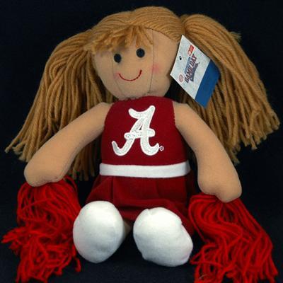 Alabama Jenkins Cheerleader Plush Doll