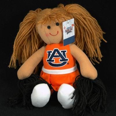 Auburn Jenkins Cheerleader Plush Doll