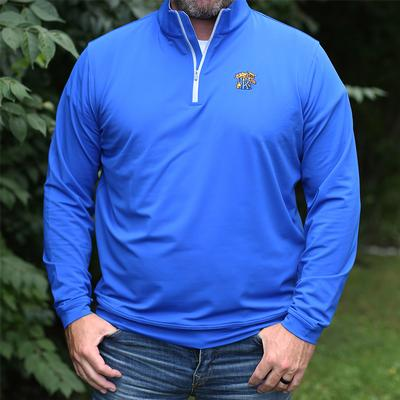 Kentucky Peter Millar Perth Quarter Zip
