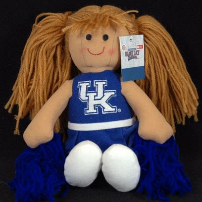 Kentucky Jenkins Cheerleader Plush Doll