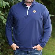 Auburn Peter Millar Perth Quarter Zip