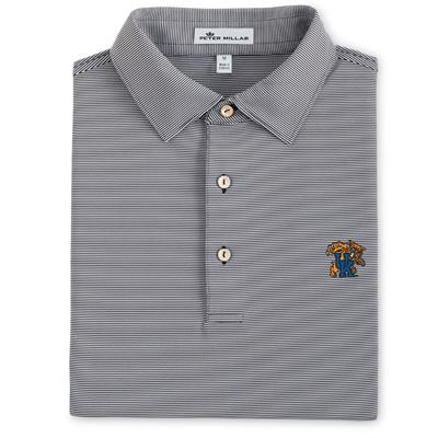 Kentucky Peter Millar Jubilee Stripe Jersey Polo