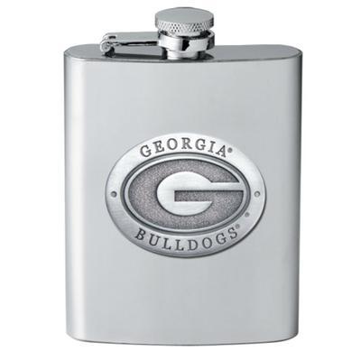 Georgia Heritage Pewter GA Flask