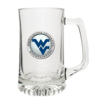 West Virginia Heritage Pewter Blue WV Super Stein