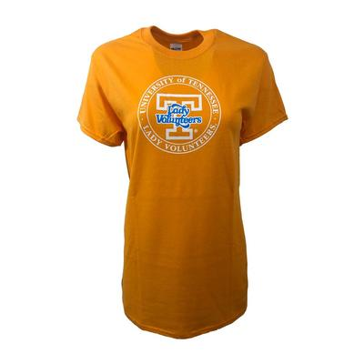 Tennessee Women's Orange Circle Lady Vols Shirt