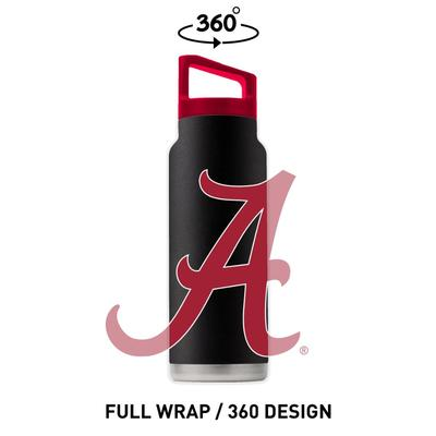 Alabama 40 oz. Bottle w/Lid