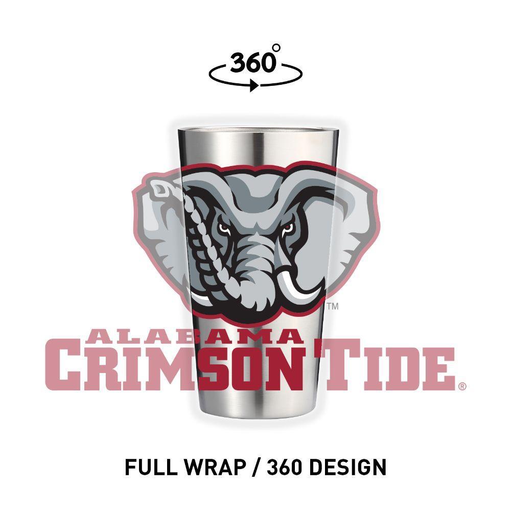 Alabama 16 Oz.360 Design Tumbler