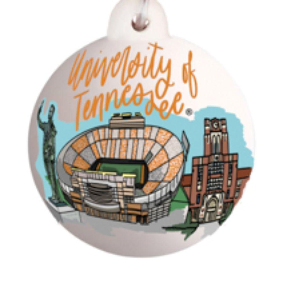 Tennessee Glory Haus Tn Landmark Ball Ornament