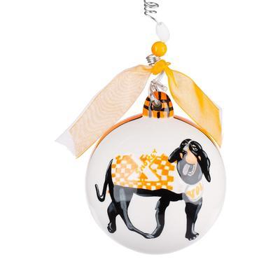 Tennessee Glory Haus TN Mascot Ball Ornament