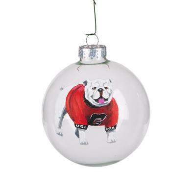 Georgia Glory Haus GA Mascot Ball Ornament