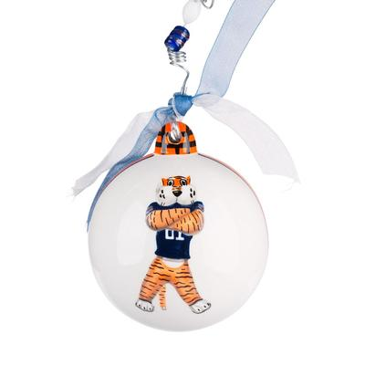 Auburn Glory Haus AUB Mascot Ball Ornament