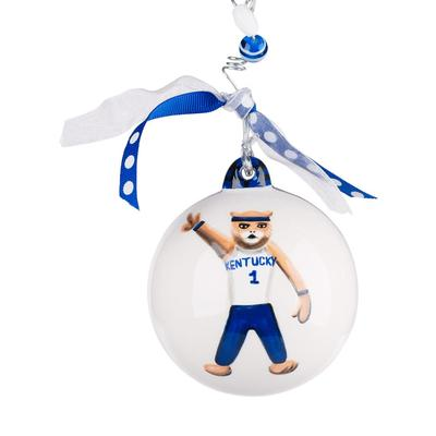 Kentucky Glory Haus KY Mascot Ball Ornament