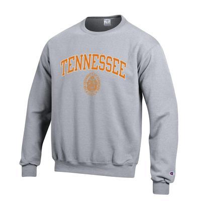 Tennessee Arch Seal Crew Neck Sweatshirt