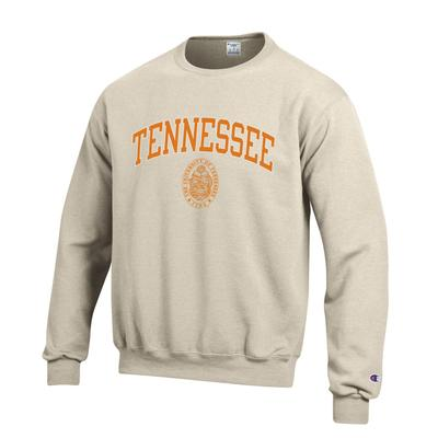 Tennessee Arch Seal Crew Neck Sweatshirt