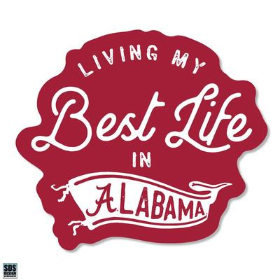 Alabama SDS Design Living My Best Life Decal