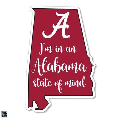 Alabama SDS Design State of Mind Decal