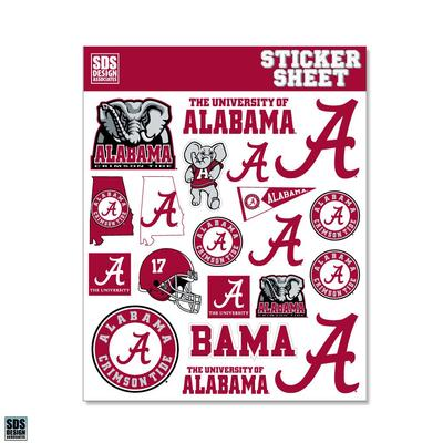 Alabama SDS Design Standard Sticker Sheet