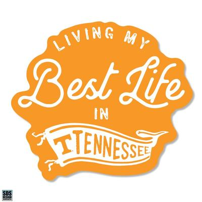 Tennessee SDS Design Best Life Decal