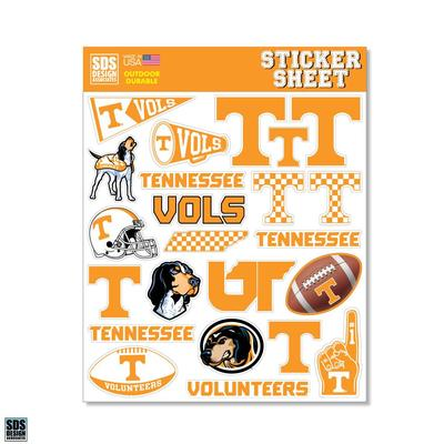 Tennessee SDS Design Sticker Sheet