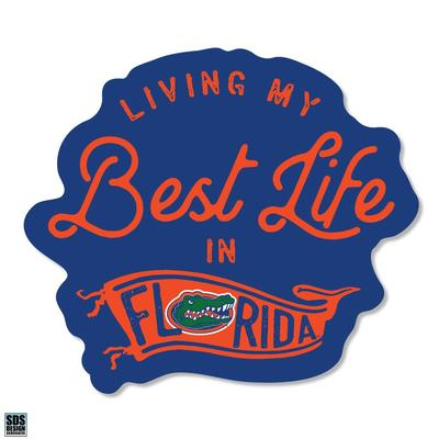 Florida SDS Design Best Life Decal