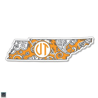 Tennessee SDS Design Paisley Decal
