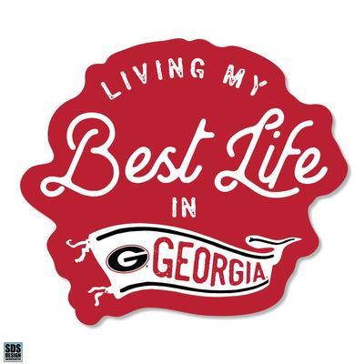 Georgia SDS Design Best Life Decal