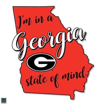 Georgia SDS Design State of Mind Decal